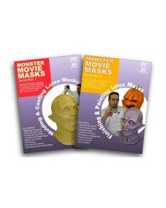Monster Movie Masks Series Part 1 and 2 -DVDs