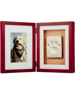 Paw Prints - Natural Frame