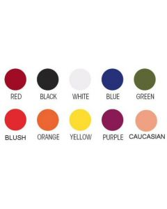 Color selections Cirius Silicone Paint and Dye