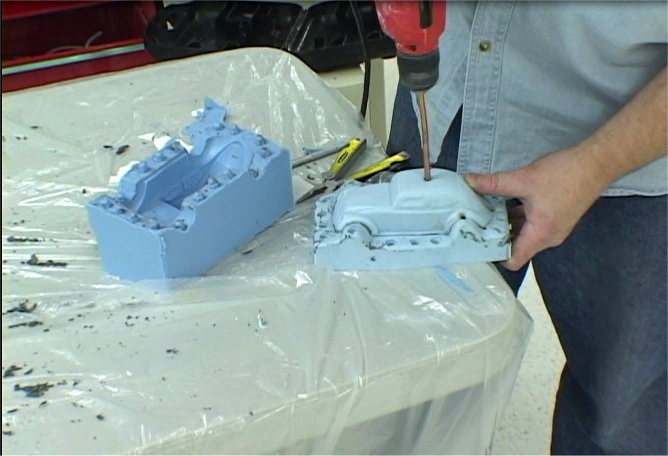 Block Mold Injection 28