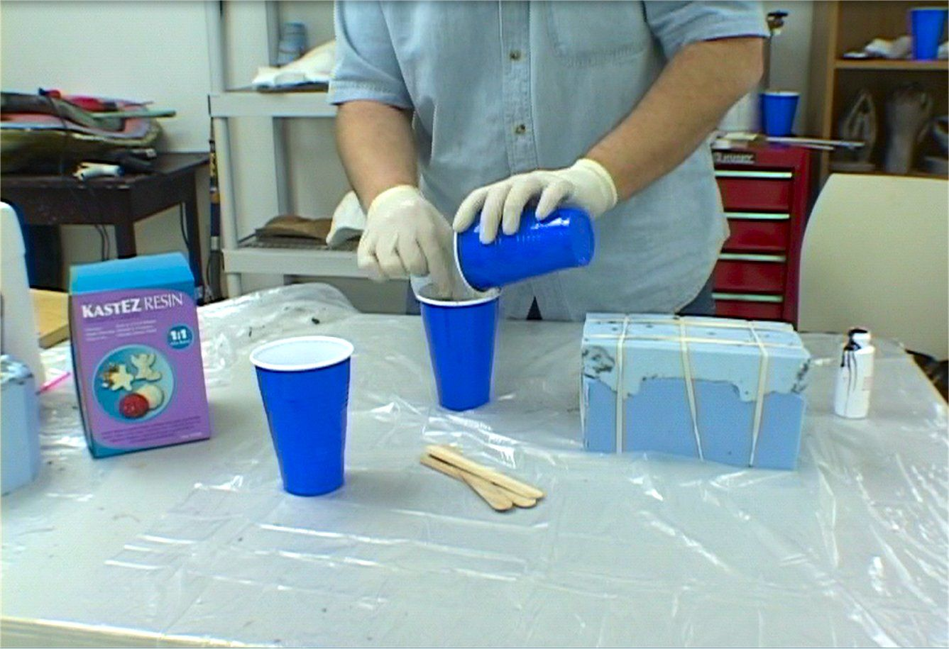 Block Mold Injection35