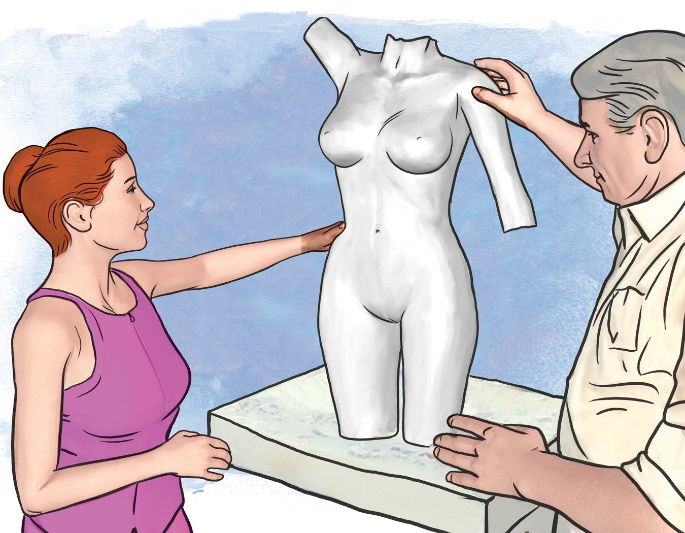 Female Torso Casting Step-25