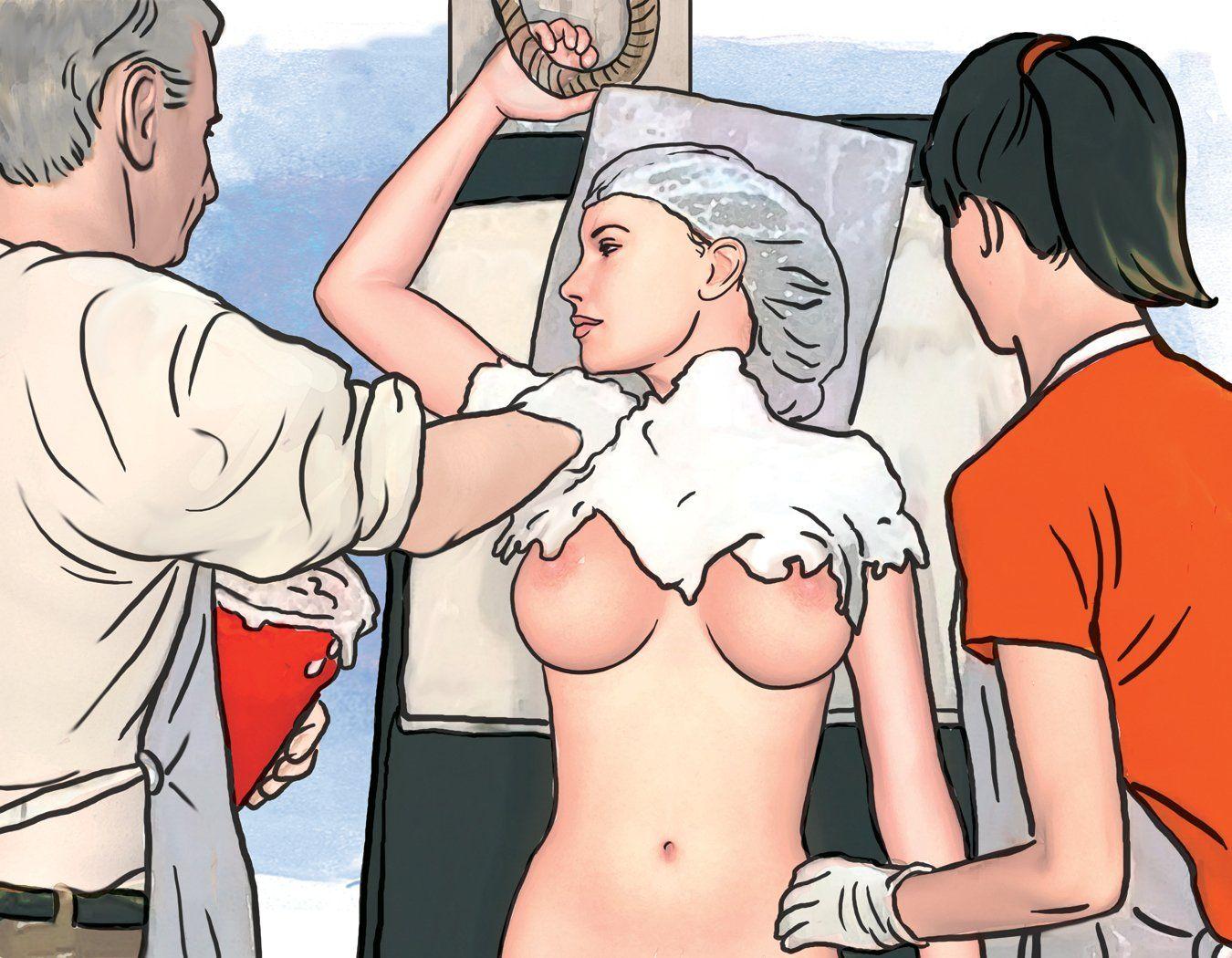 Casting the Nude Female Torso - Step 7