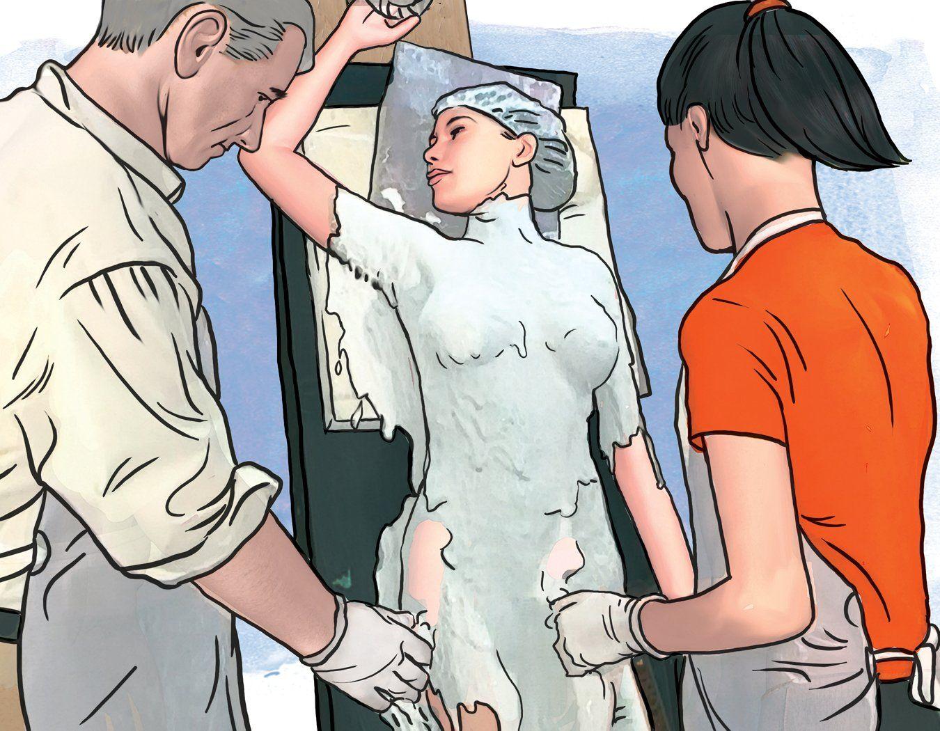 Casting the Nude Female Torso - Step 9