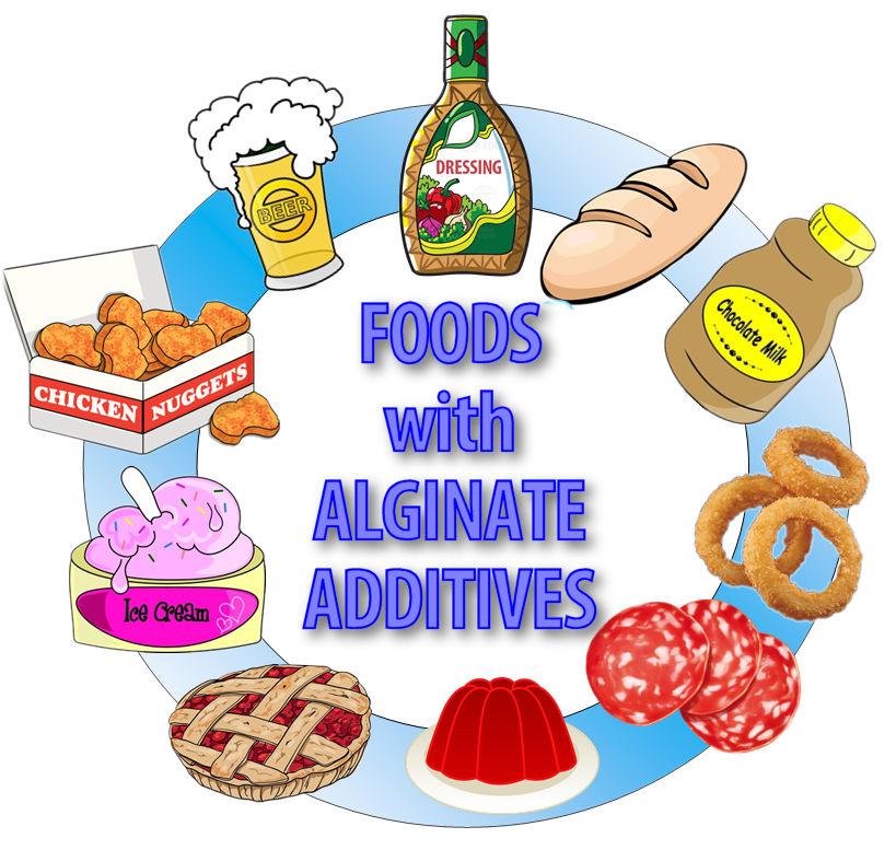 Alginate Additive Food Groups