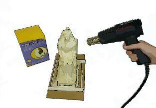 Glove mold 6