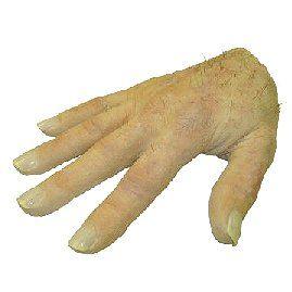 Silicone prosthetic hand