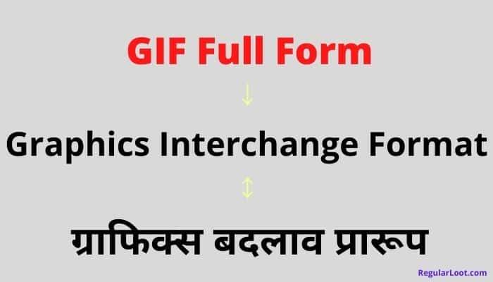 Gif Full Form in Hindi
