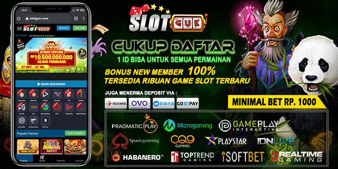 Slotgue Slot Online Terpercaya