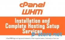 I will install cPanel whm & CSF on your vps or dedicated server