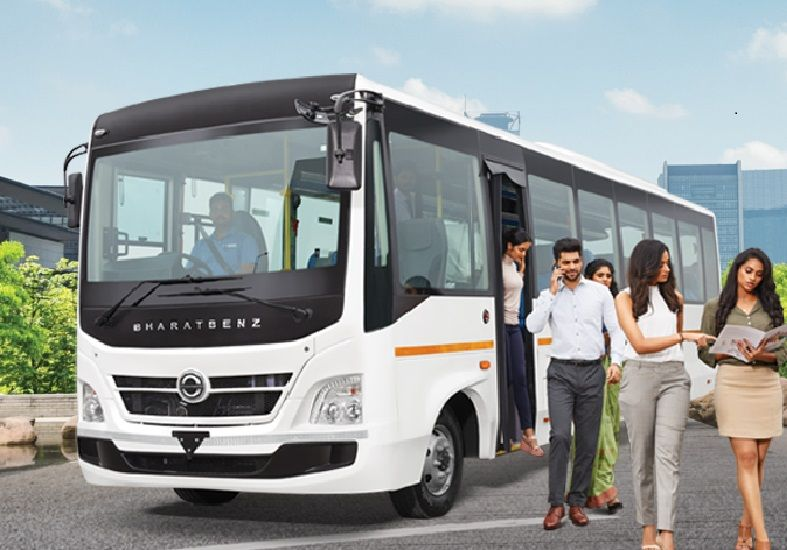 BharatBenz 1017 : Staff 35 / 39 Seater BS6 Bus