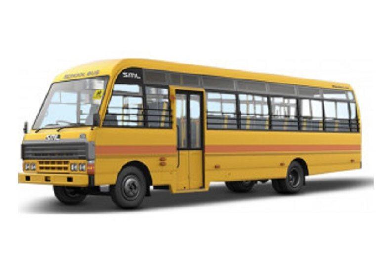 SML Isuzu Prestige School 2815: 18 / 24 Seater (4 tyre) BS6 Bus
