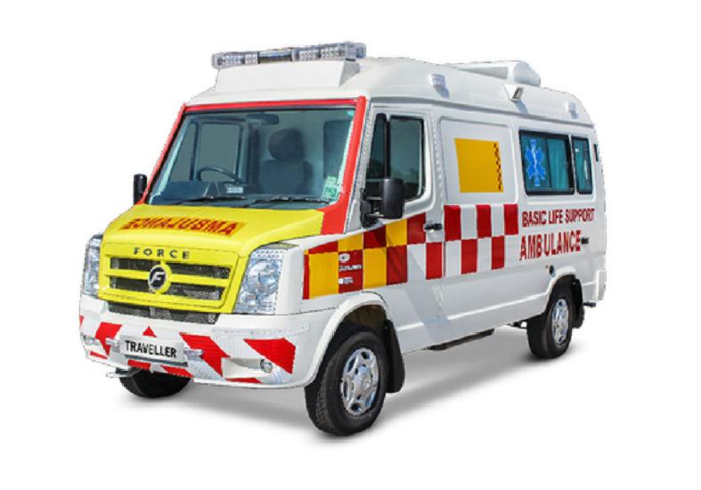 Force Traveller Ambulance 3350 BS6