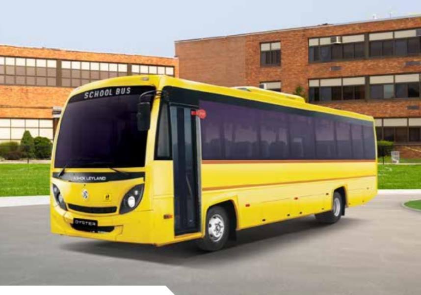 Ashok Leyland Oyster School 4200: 52 Seater BS6 Bus