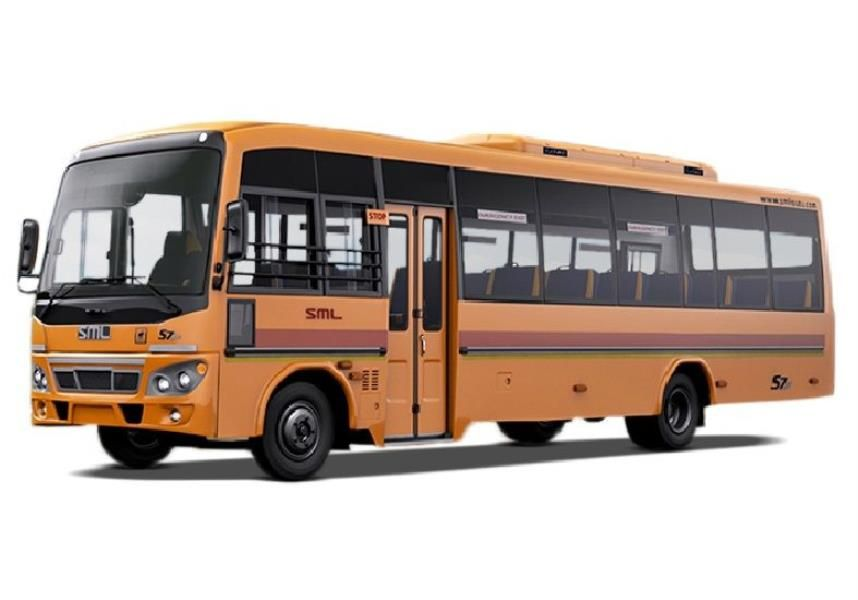 SML Isuzu S7 CNG School 5100: 38 / 52 / 59 Seater BS6 Bus