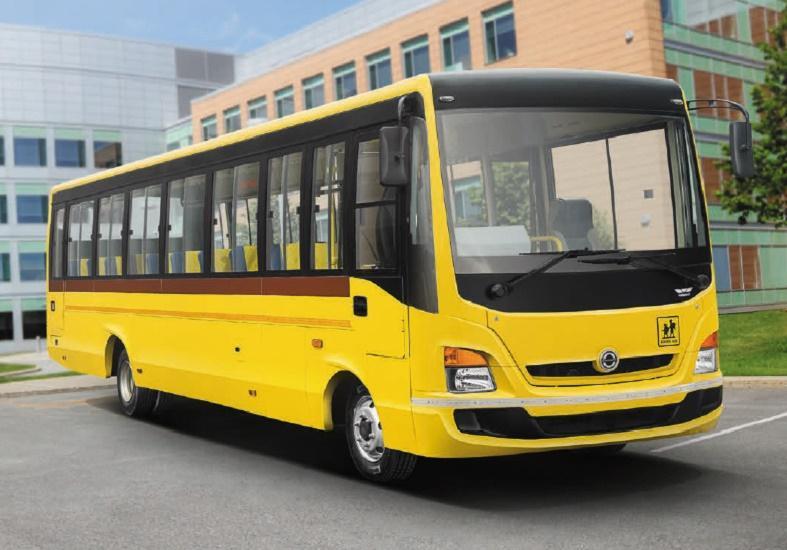 BharatBenz 914: School 39 / 49 Seater Bus