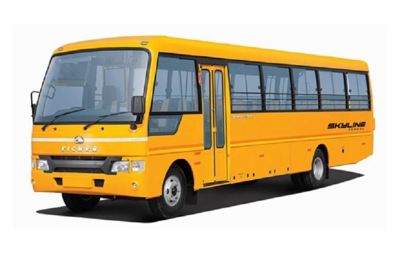 Eicher 10.90L CNG: Skyline School 42 / 51 Seater Bus