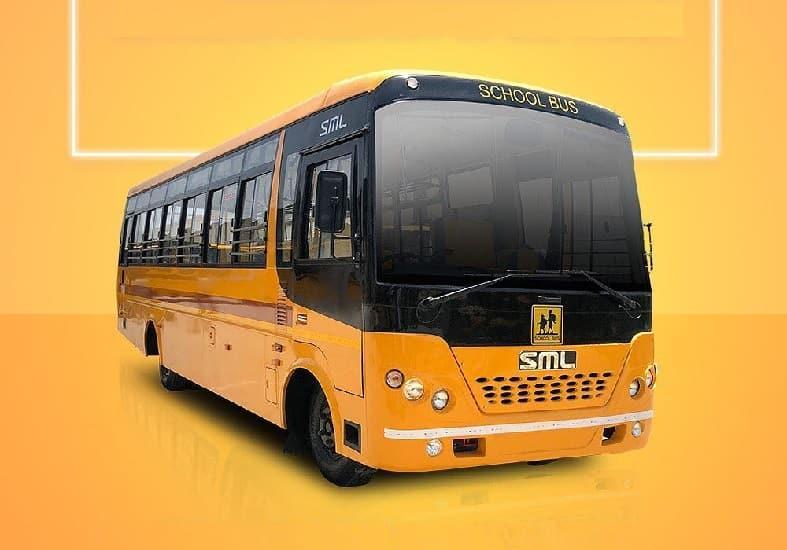 SML Isuzu BH School Bus 4240 : 32 / 42 Seater BS6 Bus