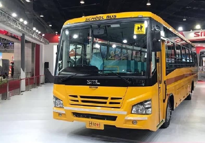 SML Isuzu Hiroi School Bus 5300 : 62 Seater BS6 Bus