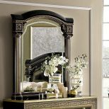 ✅ Aida Classic Mirror by ESF, Black and Gold | VivaSalotti.com | pic8