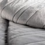 "✅ Anchor™ Weighted Blanket, 48"" x 72"", 20 lbs, Ash 