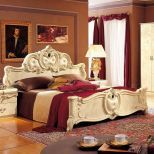 ✅ Barocco Panel King Bed Ivory by ESF   VivaSalotti.com   pic3