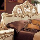 ✅ Barocco Panel King Bed Ivory by ESF   VivaSalotti.com   pic4