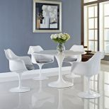 ✅ Lippa Dining Armchair Set of 4 (Gray) | VivaSalotti.com | pic