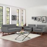 ✅ Engage Armchairs and Loveseat Set of 3 (Expectation Gray) | VivaSalotti.com | pic