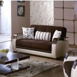 ✅ Natural Love Seat Colins Brown | VivaSalotti.com | pic5