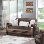✅ Natural Love Seat Prestige Brown | VivaSalotti.com | pic8