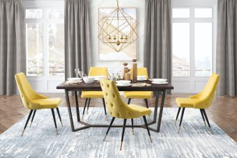 Piccolo Dining Chair Yellow (Set of 2)