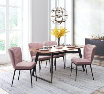 Tolivere Dining Chair Pink (Set of 2)