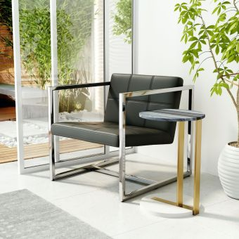 Carbon Occasional Chair Black