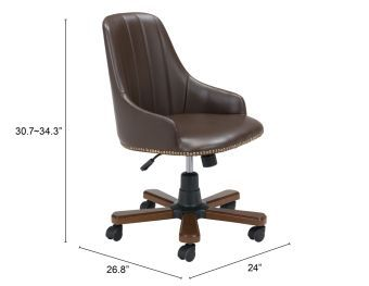 Gables Office Chair Brown