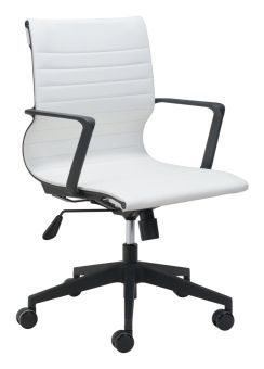 Stacy Office Chair White