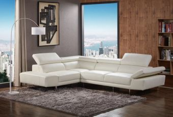 ✅ 1717 Italian Leather Sectional Left Hand Facing | VivaSalotti.com | pic6