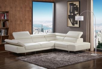 ✅ 1717 Italian Leather Sectional Right Hand Facing | VivaSalotti.com | pic6