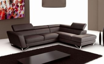 ✅ Sparta Chocolate Color Right Hand Facing Sectional J&M | VivaSalotti.com | pic1
