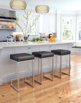 Darwen Counter Stool Black (Set of 2)