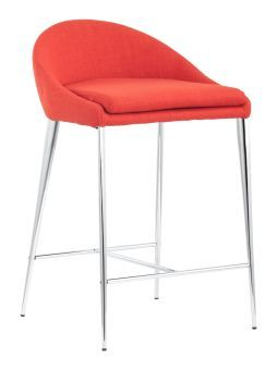 Reykjavik Counter Chair Tangerine (Set of 2)