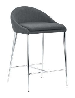 Reykjavik Counter Chair Graphite (Set of 2)