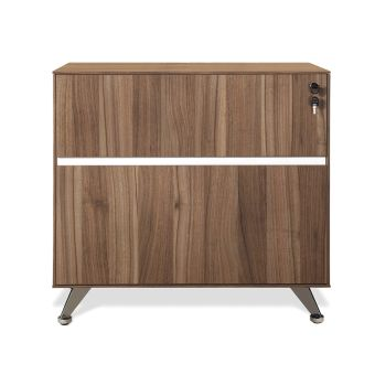 300 Series Walnut Lateral File Cabinet