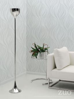 Neutrino Floor Lamp Chrome