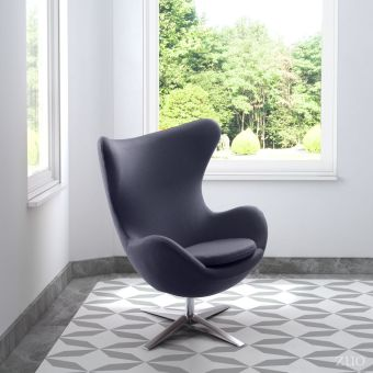 Skien Occasional Chair Iron Gray