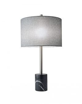 ✅ Aubrey Table Lamp Black | VivaSalotti.com