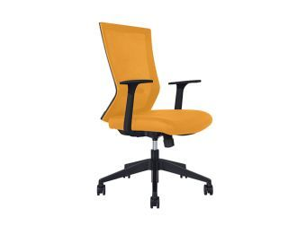 Rainbow Yellow Task Chair