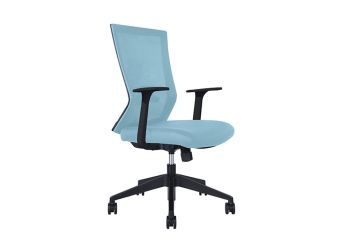 Rainbow Blue Task Chair