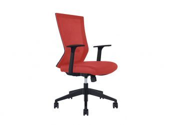 Rainbow Red Task Chair
