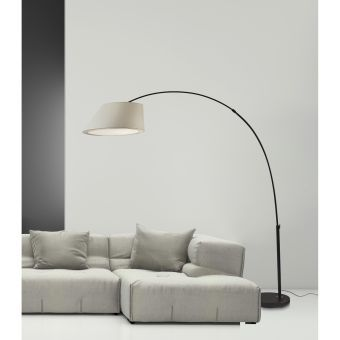 Mulberry Arc Lamp